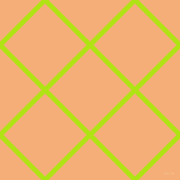 45/135 degree angle diagonal checkered chequered lines, 17 pixel line width, 206 pixel square size, Inch Worm and Tacao plaid checkered seamless tileable