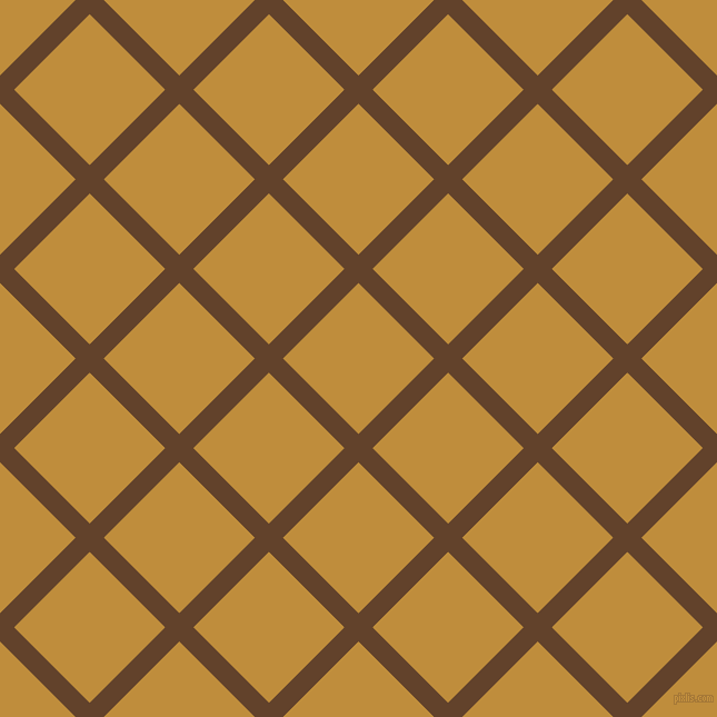 45/135 degree angle diagonal checkered chequered lines, 18 pixel lines width, 96 pixel square size, Irish Coffee and Pizza plaid checkered seamless tileable