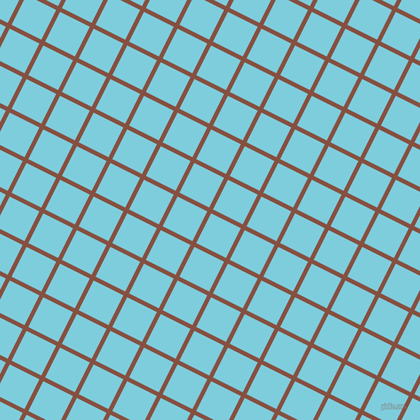 63/153 degree angle diagonal checkered chequered lines, 6 pixel lines width, 47 pixel square size, Ironstone and Spray plaid checkered seamless tileable