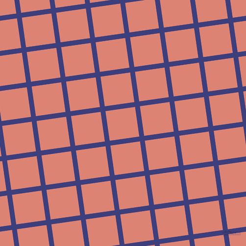 8/98 degree angle diagonal checkered chequered lines, 10 pixel lines width, 61 pixel square sizeJacksons Purple and New York Pink plaid checkered seamless tileable