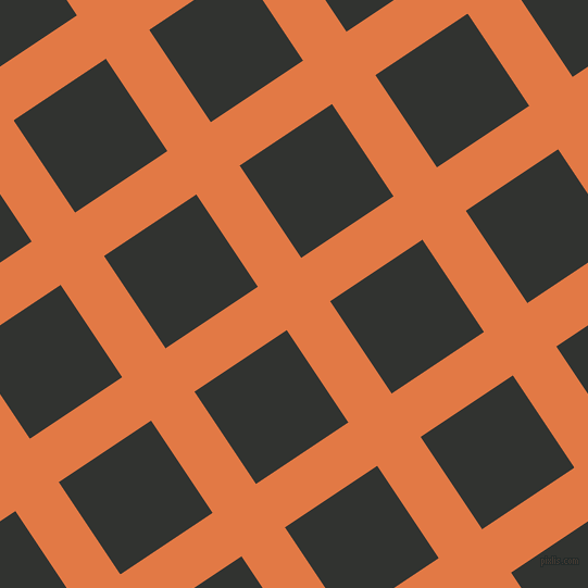 34/124 degree angle diagonal checkered chequered lines, 48 pixel line width, 102 pixel square size, Jaffa and Oil plaid checkered seamless tileable