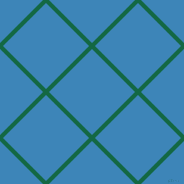 45/135 degree angle diagonal checkered chequered lines, 14 pixel line width, 202 pixel square size, Jewel and Curious Blue plaid checkered seamless tileable
