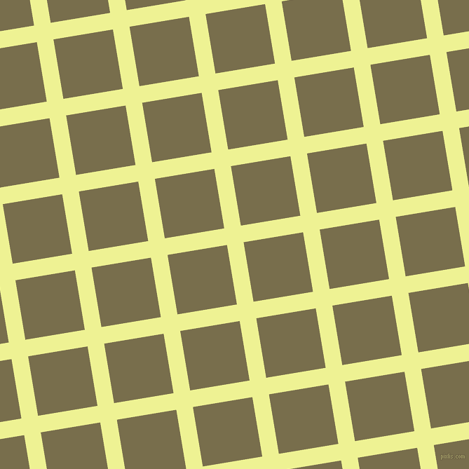 9/99 degree angle diagonal checkered chequered lines, 24 pixel line width, 86 pixel square size, Jonquil and Go Ben plaid checkered seamless tileable