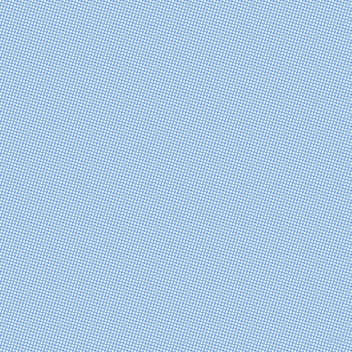 73/163 degree angle diagonal checkered chequered lines, 2 pixel lines width, 4 pixel square size, Jordy Blue and Lily White plaid checkered seamless tileable