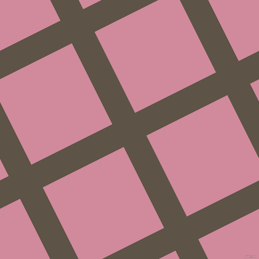 27/117 degree angle diagonal checkered chequered lines, 83 pixel line width, 296 pixel square sizeJudge Grey and Can Can plaid checkered seamless tileable