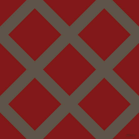 45/135 degree angle diagonal checkered chequered lines, 46 pixel lines width, 148 pixel square size, Judge Grey and Falu Red plaid checkered seamless tileable