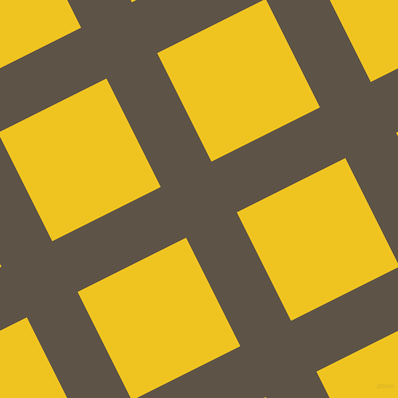 27/117 degree angle diagonal checkered chequered lines, 115 pixel line width, 246 pixel square size, Judge Grey and Moon Yellow plaid checkered seamless tileable