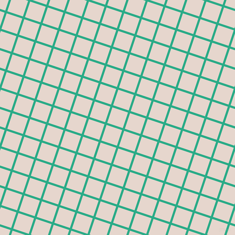 72/162 degree angle diagonal checkered chequered lines, 7 pixel line width, 53 pixel square size, Jungle Green and Dawn Pink plaid checkered seamless tileable