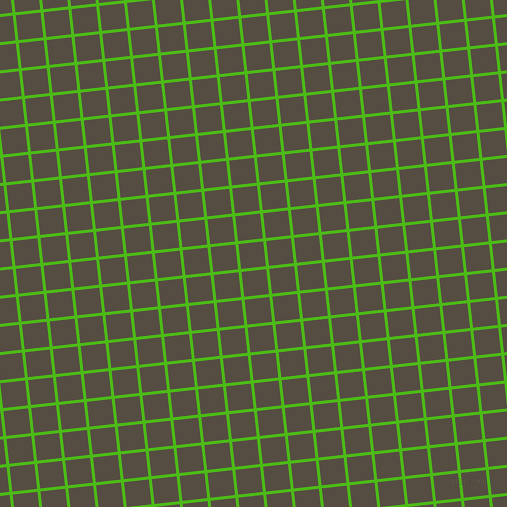 6/96 degree angle diagonal checkered chequered lines, 3 pixel lines width, 25 pixel square size, Kelly Green and Mondo plaid checkered seamless tileable