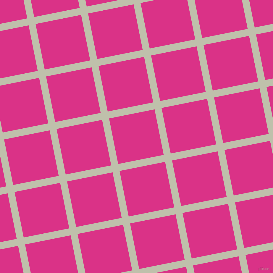 11/101 degree angle diagonal checkered chequered lines, 24 pixel line width, 157 pixel square size, Kidnapper and Deep Cerise plaid checkered seamless tileable