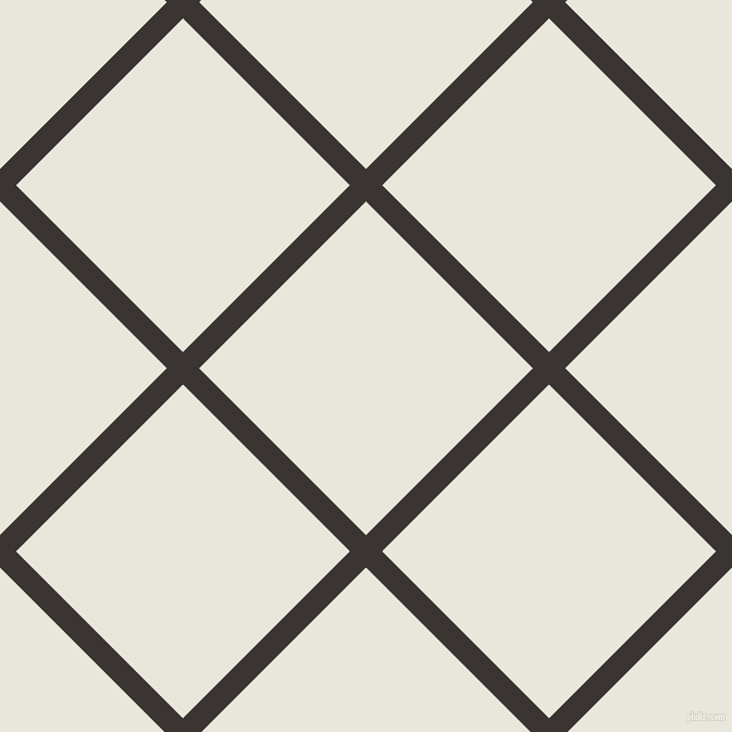 45/135 degree angle diagonal checkered chequered lines, 21 pixel line width, 217 pixel square size, Kilamanjaro and Narvik plaid checkered seamless tileable