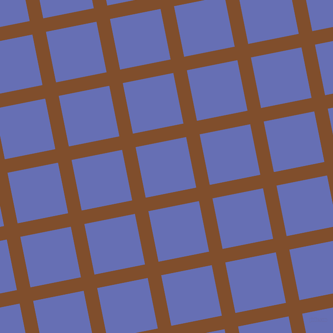 11/101 degree angle diagonal checkered chequered lines, 28 pixel line width, 105 pixel square size, Korma and Chetwode Blue plaid checkered seamless tileable