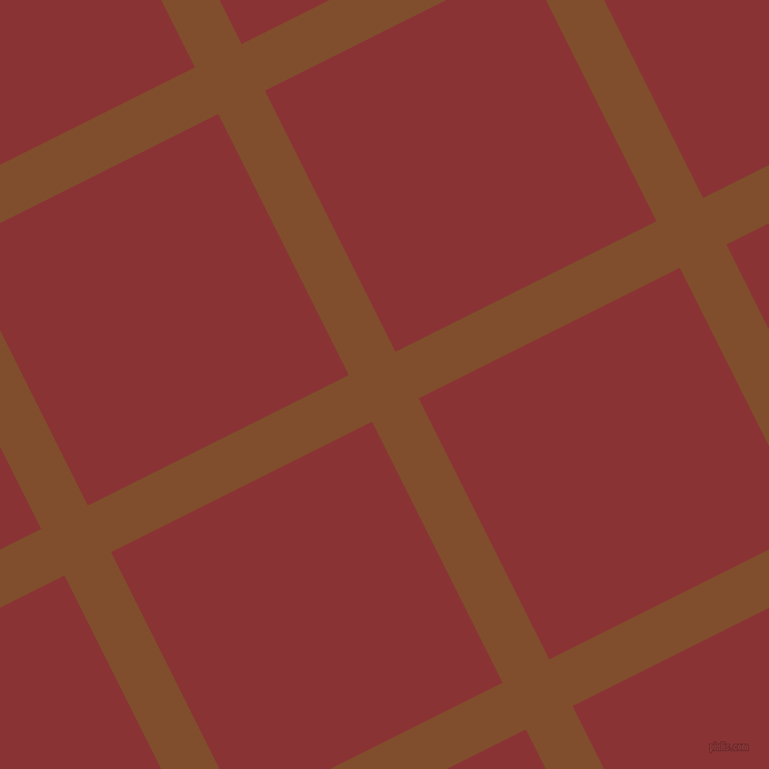 27/117 degree angle diagonal checkered chequered lines, 47 pixel lines width, 263 pixel square size, Korma and Old Brick plaid checkered seamless tileable
