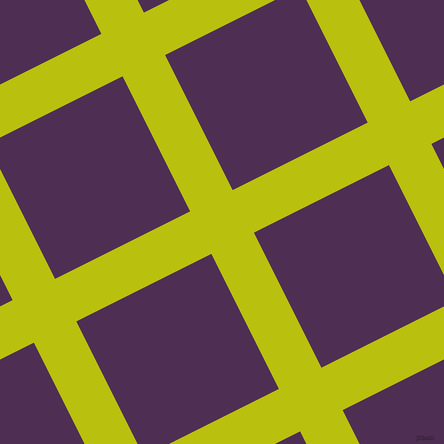 27/117 degree angle diagonal checkered chequered lines, 95 pixel line width, 302 pixel square size, La Rioja and Hot Purple plaid checkered seamless tileable
