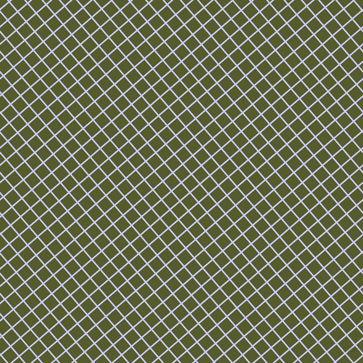 41/131 degree angle diagonal checkered chequered lines, 3 pixel lines width, 23 pixel square size, Lavender Blue and Saratoga plaid checkered seamless tileable