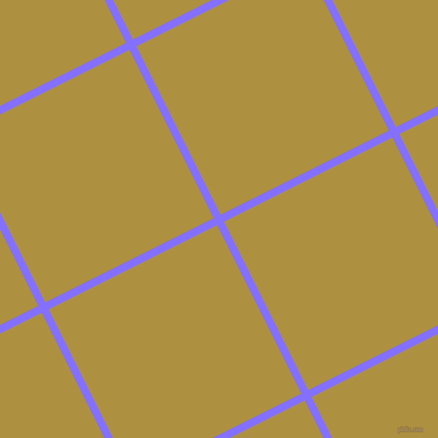27/117 degree angle diagonal checkered chequered lines, 11 pixel line width, 266 pixel square sizeLight Slate Blue and Turmeric plaid checkered seamless tileable