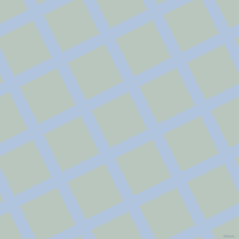 27/117 degree angle diagonal checkered chequered lines, 38 pixel line width, 138 pixel square size, Light Steel Blue and Nebula plaid checkered seamless tileable
