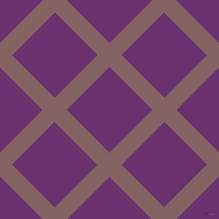 45/135 degree angle diagonal checkered chequered lines, 59 pixel lines width, 208 pixel square size, Light Wood and Seance plaid checkered seamless tileable