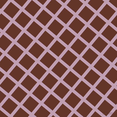 50/140 degree angle diagonal checkered chequered lines, 11 pixel lines width, 41 pixel square size, Lily and Hairy Heath plaid checkered seamless tileable