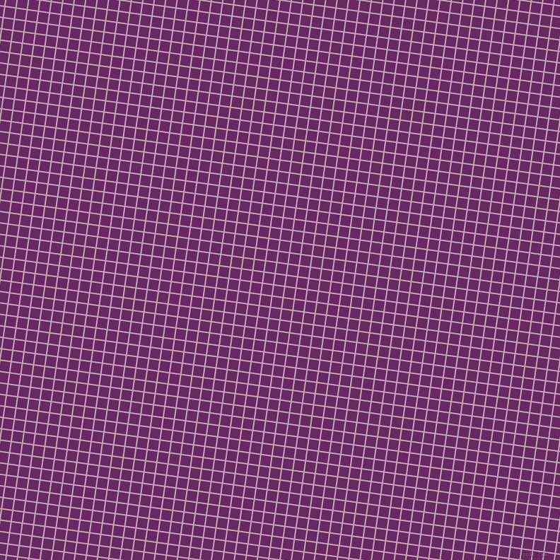 82/172 degree angle diagonal checkered chequered lines, 2 pixel lines width, 14 pixel square size, Lily and Palatinate Purple plaid checkered seamless tileable
