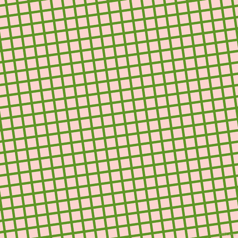 8/98 degree angle diagonal checkered chequered lines, 5 pixel lines width, 18 pixel square size, Limeade and Cosmos plaid checkered seamless tileable