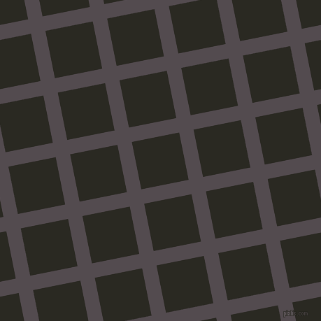 11/101 degree angle diagonal checkered chequered lines, 21 pixel line width, 69 pixel square size, Liver and Maire plaid checkered seamless tileable