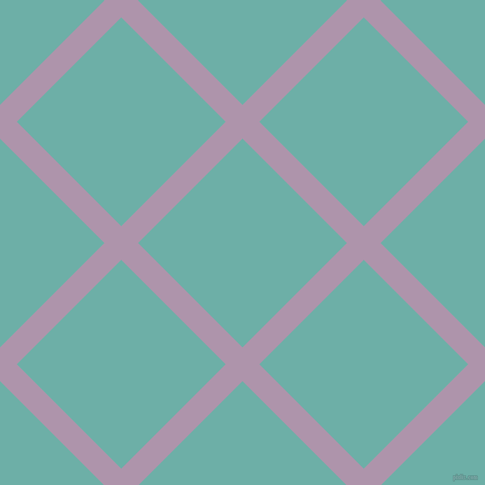 45/135 degree angle diagonal checkered chequered lines, 34 pixel lines width, 211 pixel square size, London Hue and Tradewind plaid checkered seamless tileable