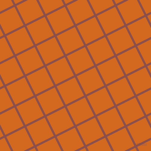 27/117 degree angle diagonal checkered chequered lines, 7 pixel line width, 68 pixel square size, Lotus and Chocolate plaid checkered seamless tileable