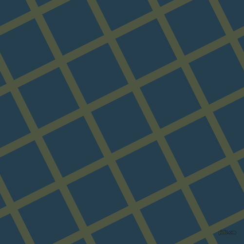 27/117 degree angle diagonal checkered chequered lines, 17 pixel line width, 95 pixel square size, Lunar Green and Nile Blue plaid checkered seamless tileable
