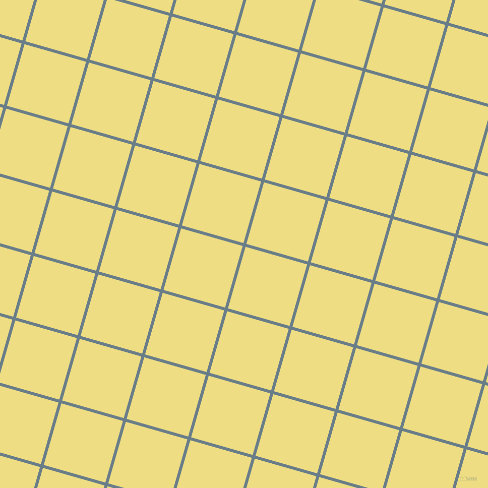 74/164 degree angle diagonal checkered chequered lines, 6 pixel lines width, 127 pixel square size, Lynch and Light Goldenrod plaid checkered seamless tileable
