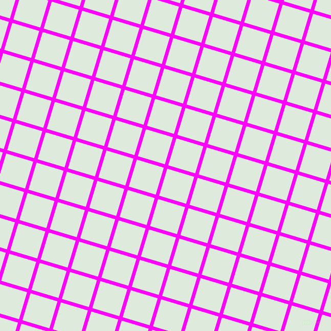 73/163 degree angle diagonal checkered chequered lines, 7 pixel lines width, 55 pixel square size, Magenta and Apple Green plaid checkered seamless tileable