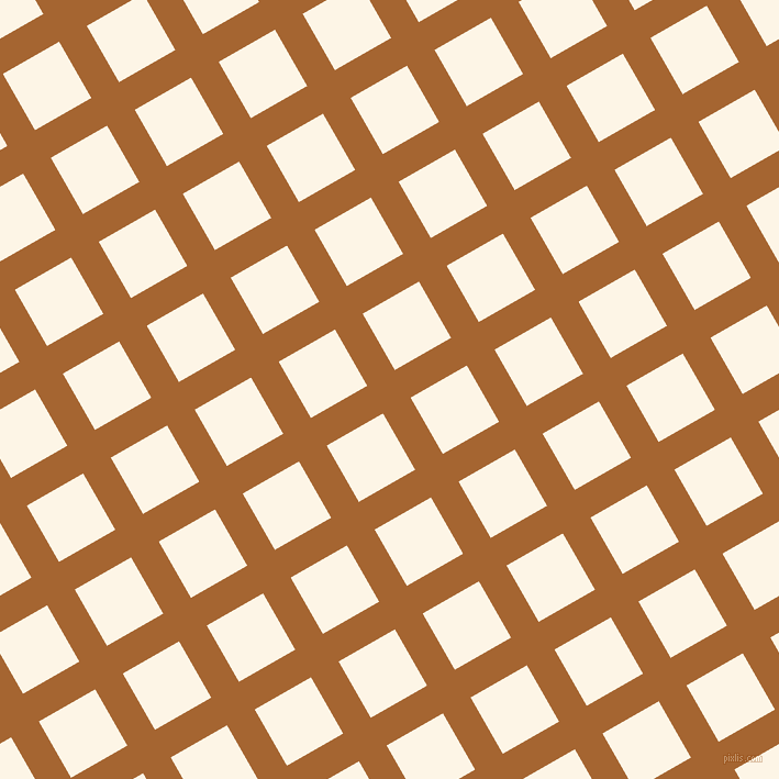 30/120 degree angle diagonal checkered chequered lines, 29 pixel line width, 59 pixel square size, Mai Tai and Old Lace plaid checkered seamless tileable