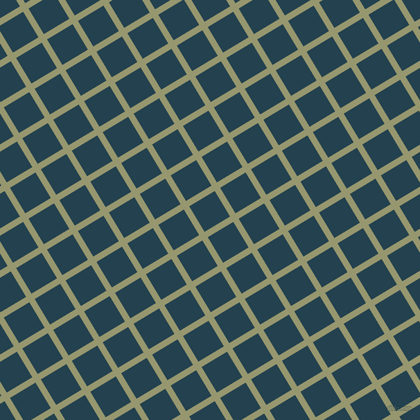 31/121 degree angle diagonal checkered chequered lines, 9 pixel line width, 43 pixel square size, Malachite Green and Green Vogue plaid checkered seamless tileable