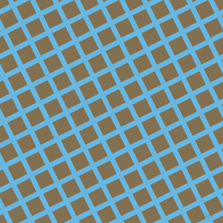 27/117 degree angle diagonal checkered chequered lines, 10 pixel line width, 29 pixel square size, Malibu and Shadow plaid checkered seamless tileable