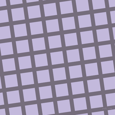8/98 degree angle diagonal checkered chequered lines, 14 pixel line width, 43 pixel square size, Mamba and Melrose plaid checkered seamless tileable