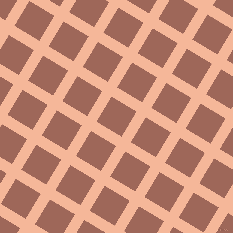 59/149 degree angle diagonal checkered chequered lines, 36 pixel line width, 97 pixel square size, Mandys Pink and Au Chico plaid checkered seamless tileable