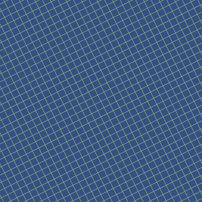 27/117 degree angle diagonal checkered chequered lines, 1 pixel lines width, 13 pixel square size, Mantis and Tory Blue plaid checkered seamless tileable