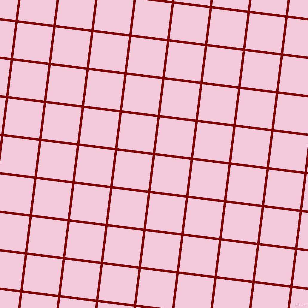 83/173 degree angle diagonal checkered chequered lines, 8 pixel lines width, 120 pixel square size, Maroon and Classic Rose plaid checkered seamless tileable
