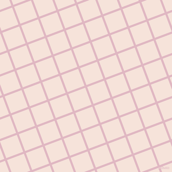 21/111 degree angle diagonal checkered chequered lines, 7 pixel line width, 60 pixel square size, Melanie and Provincial Pink plaid checkered seamless tileable