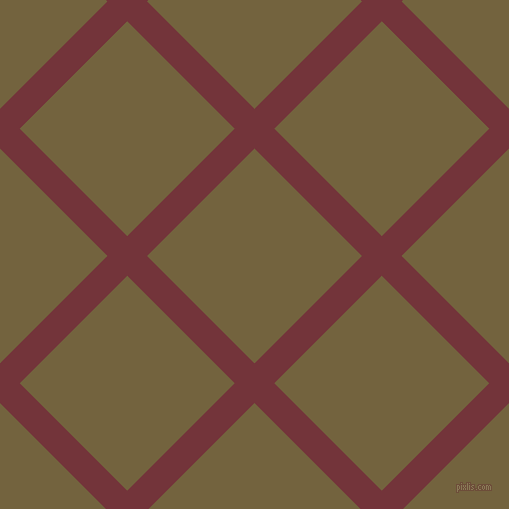 45/135 degree angle diagonal checkered chequered lines, 28 pixel line width, 152 pixel square size, Merlot and Yellow Metal plaid checkered seamless tileable