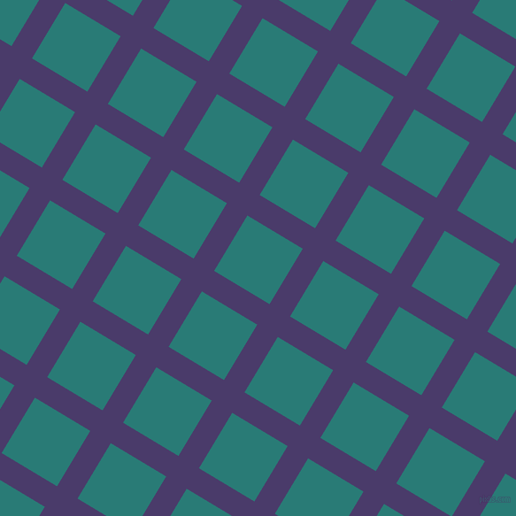 59/149 degree angle diagonal checkered chequered lines, 27 pixel lines width, 73 pixel square size, Meteorite and Elm plaid checkered seamless tileable