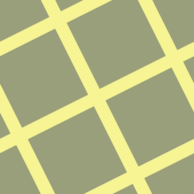 27/117 degree angle diagonal checkered chequered lines, 45 pixel line width, 257 pixel square size, Milan and Sage plaid checkered seamless tileable