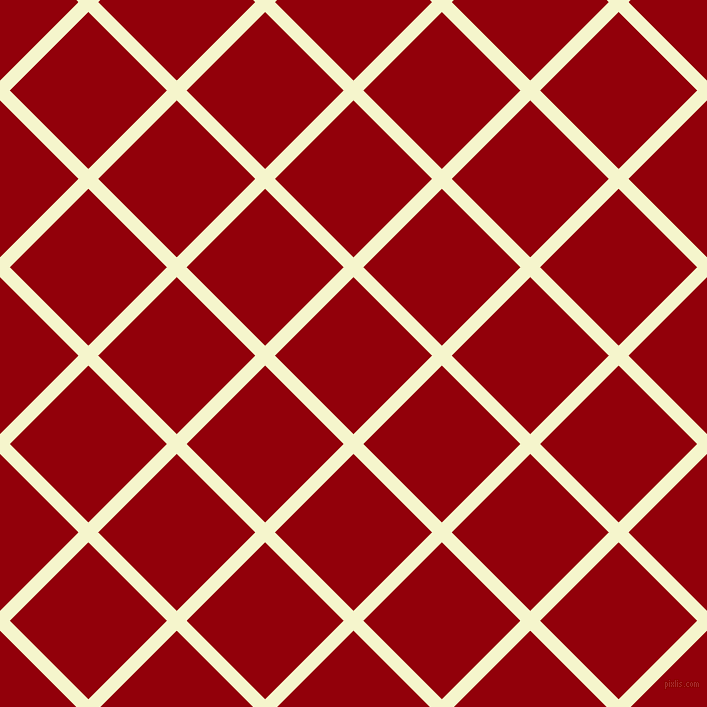 45/135 degree angle diagonal checkered chequered lines, 14 pixel lines width, 111 pixel square size, Mimosa and Sangria plaid checkered seamless tileable