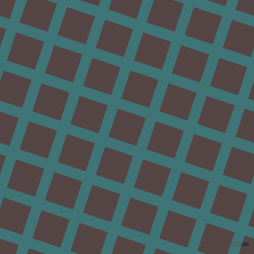 72/162 degree angle diagonal checkered chequered lines, 22 pixel lines width, 61 pixel square size, Ming and Woody Brown plaid checkered seamless tileable