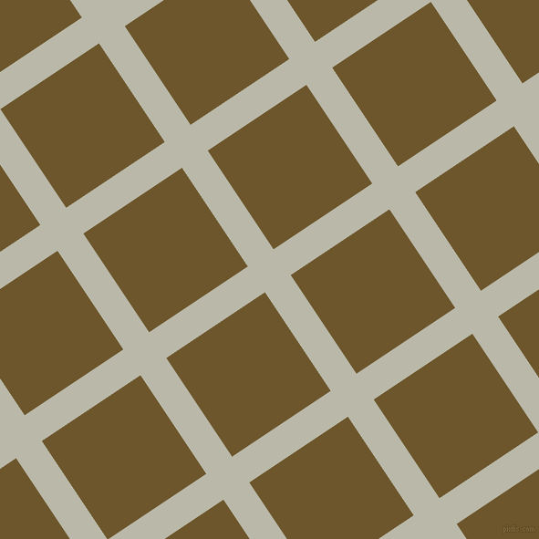 34/124 degree angle diagonal checkered chequered lines, 34 pixel lines width, 130 pixel square size, Mist Grey and Horses Neck plaid checkered seamless tileable