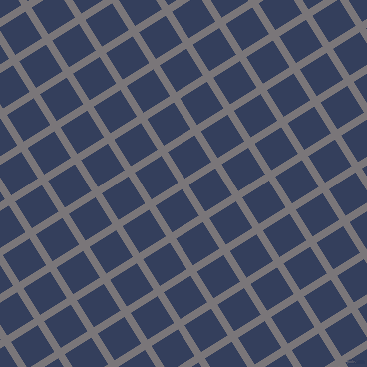 32/122 degree angle diagonal checkered chequered lines, 15 pixel line width, 63 pixel square size, Monsoon and Gulf Blue plaid checkered seamless tileable