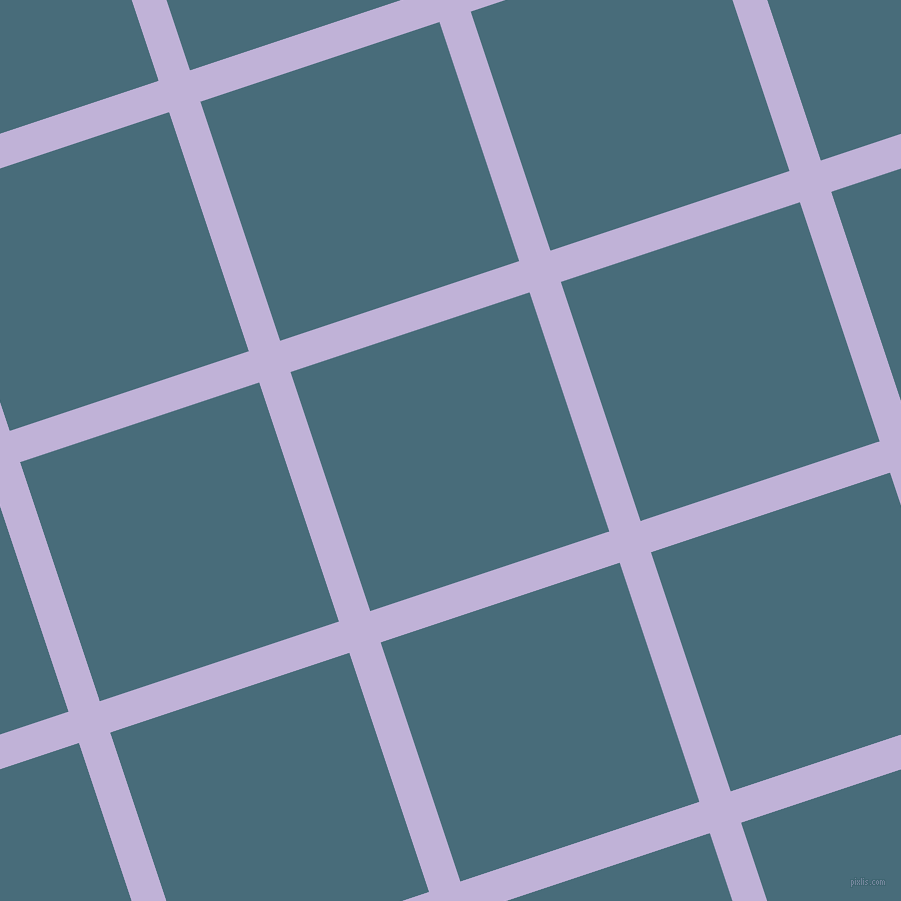 18/108 degree angle diagonal checkered chequered lines, 33 pixel line width, 252 pixel square size, Moon Raker and Bismark plaid checkered seamless tileable