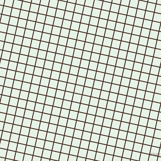 77/167 degree angle diagonal checkered chequered lines, 3 pixel lines width, 27 pixel square size, Morocco Brown and Aqua Spring plaid checkered seamless tileable