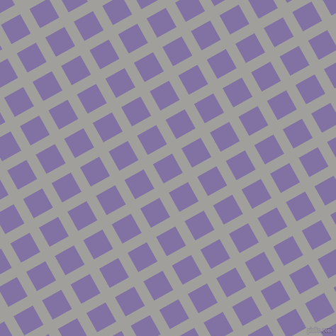 29/119 degree angle diagonal checkered chequered lines, 15 pixel lines width, 31 pixel square size, Mountain Mist and Deluge plaid checkered seamless tileable