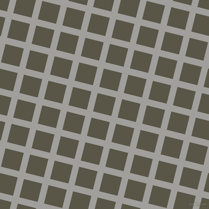 76/166 degree angle diagonal checkered chequered lines, 13 pixel lines width, 38 pixel square size, Mountain Mist and Millbrook plaid checkered seamless tileable